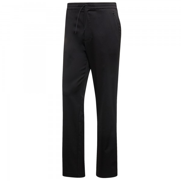 adidas Y-3 Wool Satin Straight Leg Joggers (Black)