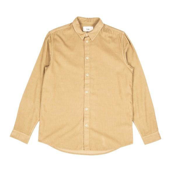 Folk Baby Cord Shirt (Tan)