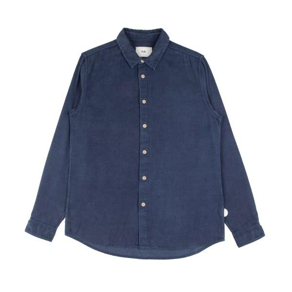 Folk Baby Cord Shirt (Washed Ink)
