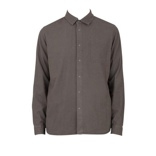 Folk Flannel Pop Stud Shirt (Military Green)