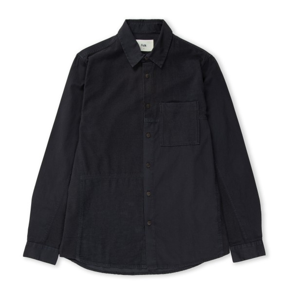 Folk Fraction Shirt (Charcoal)