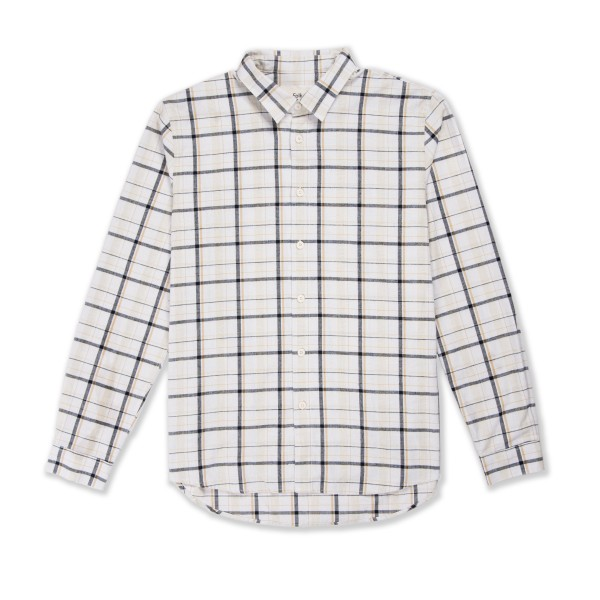 Folk Storm Shirt (Ecru Multi Check)