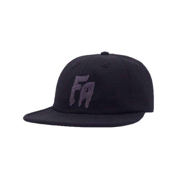 Fucking Awesome FA Formless 6-Panel Cap (Black)