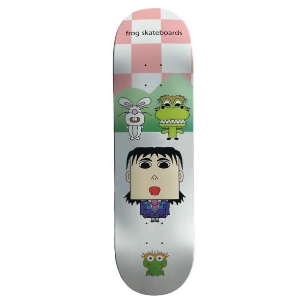 "Frog Skateboards Scream Your Dream Skateboard Deck 8.6"""