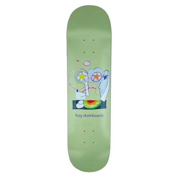 """Frog Skateboards Senseless Skateboard Deck 8.0"""""""