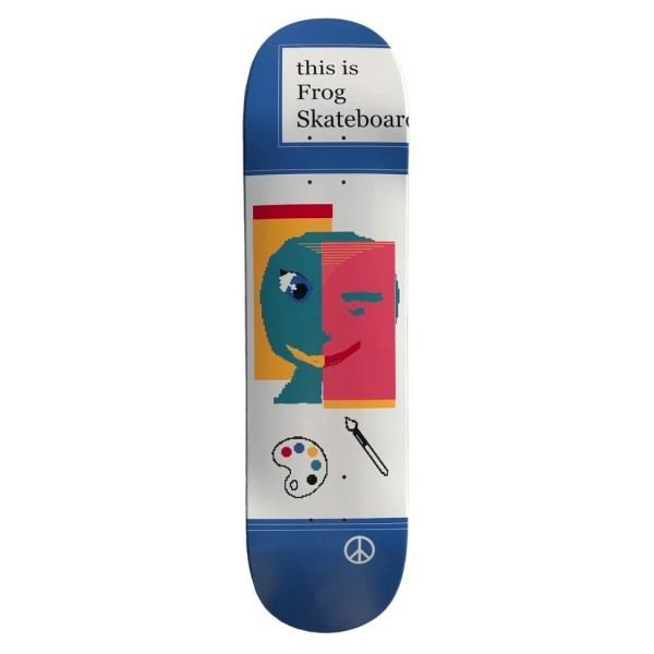 """Frog Skateboards This Is Frog Skateboard Deck 8.0"""""""