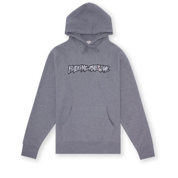 Fucking Awesome Actual Visual Guidance Pullover Hooded Sweatshirt (Grey Heather)