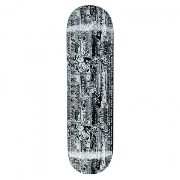 """Fucking Awesome Acupuncture Skateboard Deck 8.5"""" (Black/White)"""