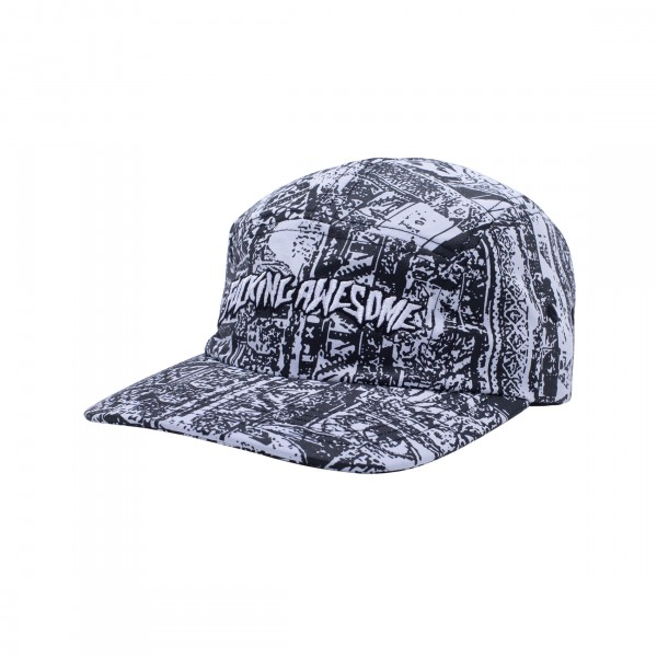 Fucking Awesome Acupuncture Volley Strapback (Black/Reflective 3M)