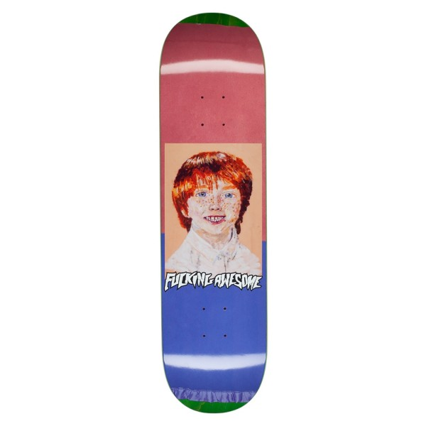 "Fucking Awesome Aidan Felt Class Photo Skateboard Deck 8.18"""