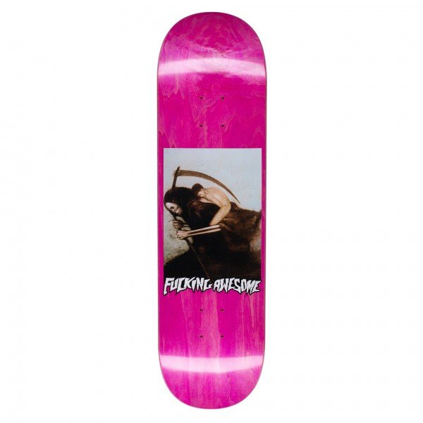 """Fucking Awesome AVE Personification Of Death Skateboard Deck 8.38"""" (Assorted Veneers)"""