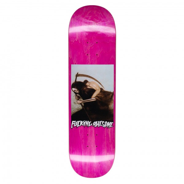"""Fucking Awesome AVE Personification Of Death Skateboard Deck 8.5"""" (Assorted Veneers)"""