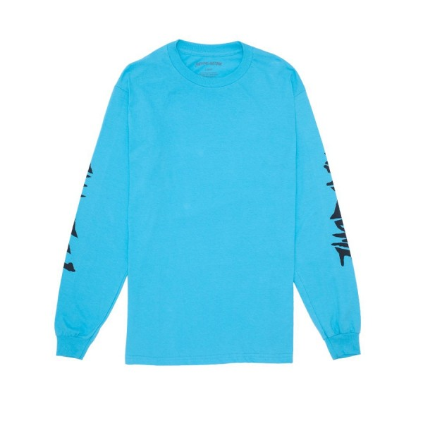 Fucking Awesome Collage Long Sleeve T-Shirt (Lagoon Blue)