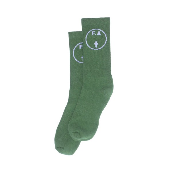 Fucking Awesome Cross Socks (Green)