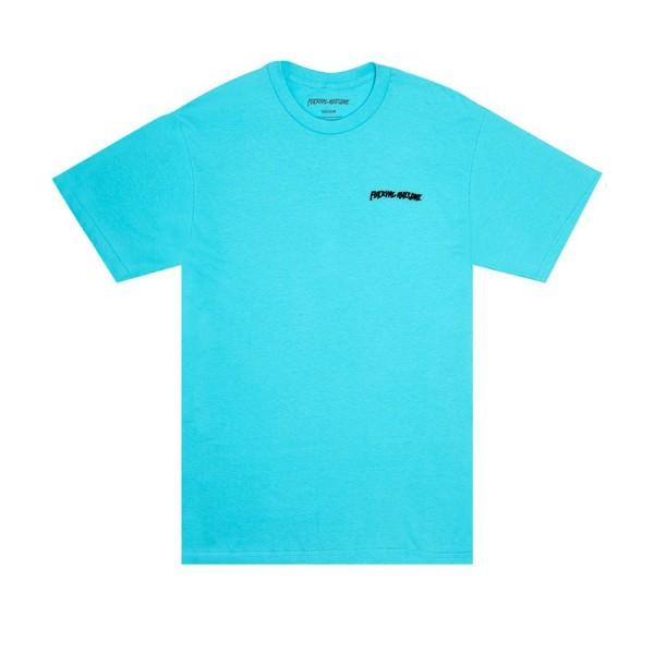 Fucking Awesome Cyborg T-Shirt (Lagoon Blue)
