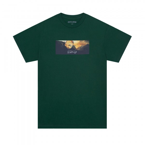 Fucking Awesome Explosion T-Shirt (Dark Green)