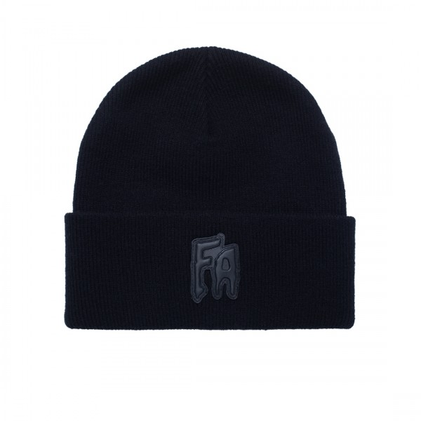 Fucking Awesome FA Applique Cuff Beanie (Black)
