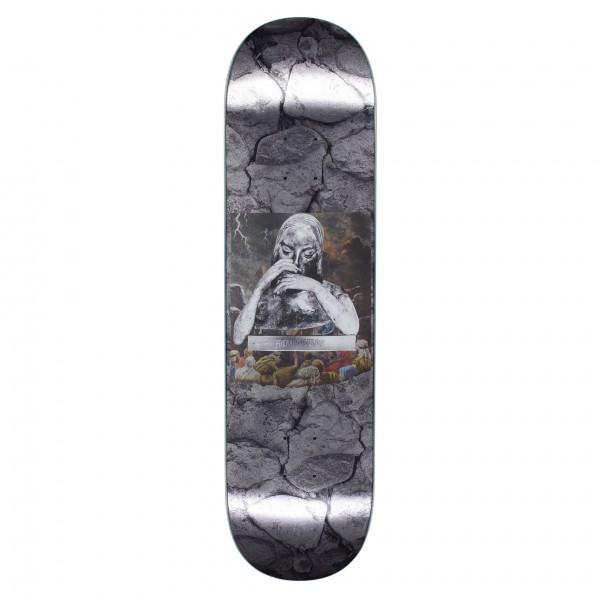 "Fucking Awesome Gino Iannucci Saint Mary Foil Skateboard Deck 8.25"""