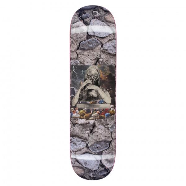 "Fucking Awesome Gino Iannucci Saint Mary Skateboard Deck 8.18"""