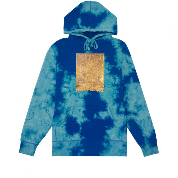 Fucking Awesome Gold Hieroglyphic Pullover Hooded Sweatshirt (Bomba Royal)