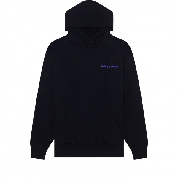 Fucking Awesome Heavy Metal Pullover Hooded Sweatshirt (Black)