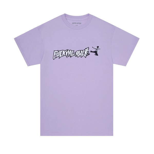 Fucking Awesome Karate T-Shirt (Orchid)