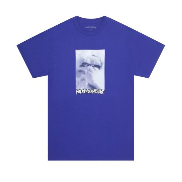 Fucking Awesome Kitty Fetus T-Shirt (Cobalt)