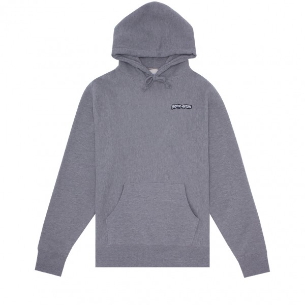 Fucking Awesome Little Stamp Pullover Hooded Sweatshirt (Gunmetal)