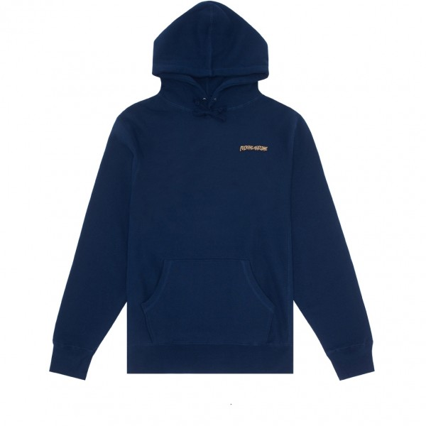 Fucking Awesome Little Stamp Pullover Hooded Sweatshirt (Navy)