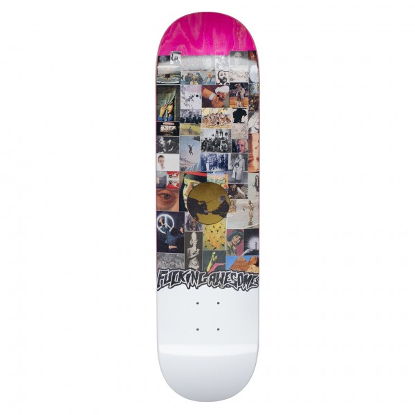 "Fucking Awesome Louie Lopez Collage II Skateboard Deck 8.18"" (Assorted Veneers)"