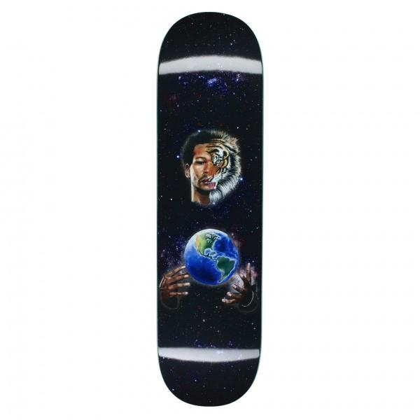 "Fucking Awesome Na-Kel Smith Tiger Skateboard Deck 8.25"""