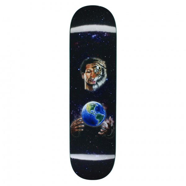 "Fucking Awesome Na-Kel Smith Tiger Skateboard Deck 8.5"""