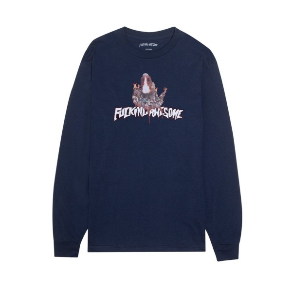 Fucking Awesome Nightmare Long Sleeve T-Shirt (Navy)