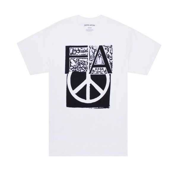 Fucking Awesome Peace T-Shirt (White)