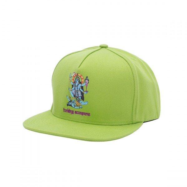 Fucking Awesome Redemption Snapback Cap (Lime)