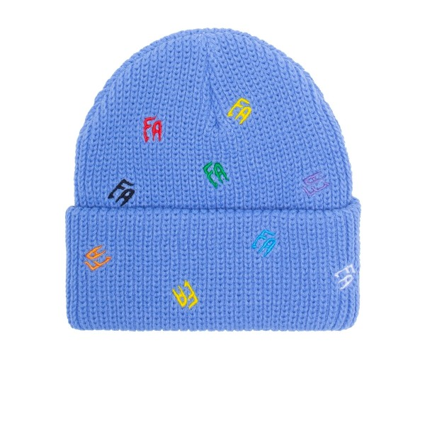 Fucking Awesome Scattered FA Cuff Beanie (Violet)