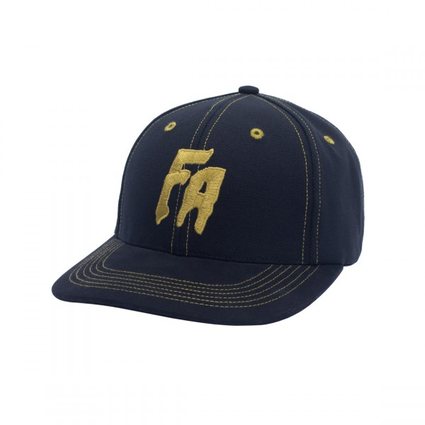Fucking Awesome Seduction Of The World Strapback Cap (Black/Gold)