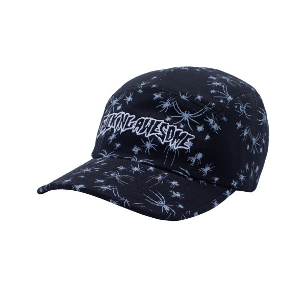 Fucking Awesome Spider Stamp Volley Strapback (Black)
