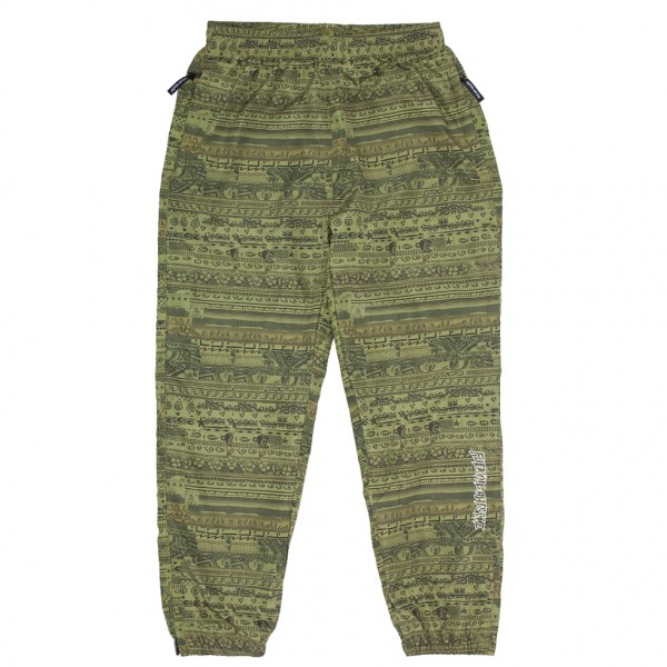 Fucking Awesome Stacked Track Pant (Green)
