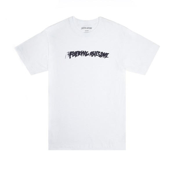 Fucking Awesome Stamp T-Shirt (White)