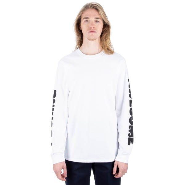 Fucking Awesome Teeth Long Sleeve T-Shirt (White)