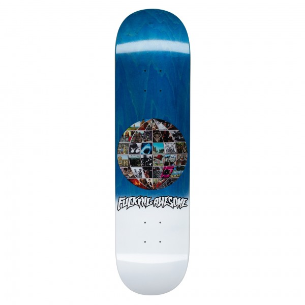"""Fucking Awesome Univision Skateboard Deck 8.18"""" (Assorted Veneers)"""