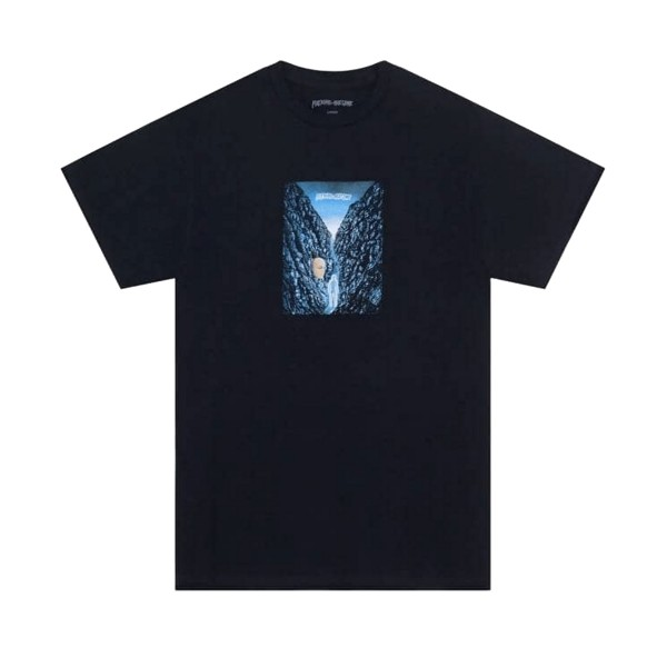 Fucking Awesome Waterfall T-Shirt (Black)