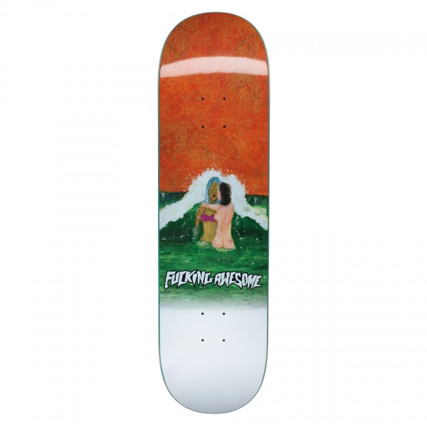 """Fucking Awesome Wave Painting Skateboard Deck 8.5"""""""