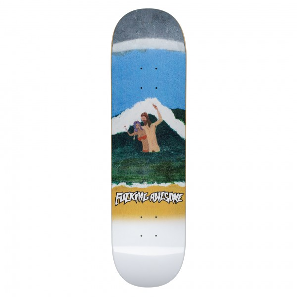 "Fucking Awesome Zuma Beach Skateboard Deck 8.25"""