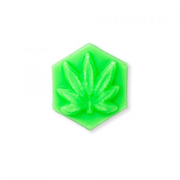 Ganj Wax Pineapple Express Small Skateboard Wax (Light Green)