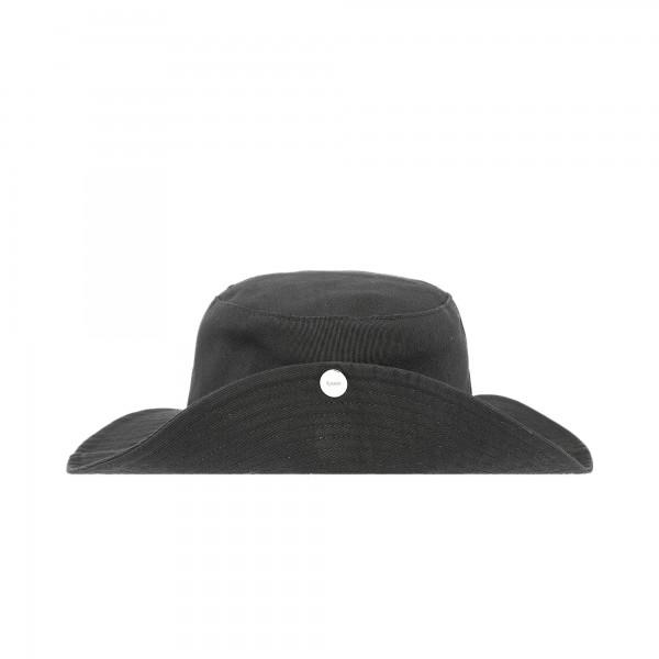 GANNI Software Heavy Cotton Hat (Phantom)