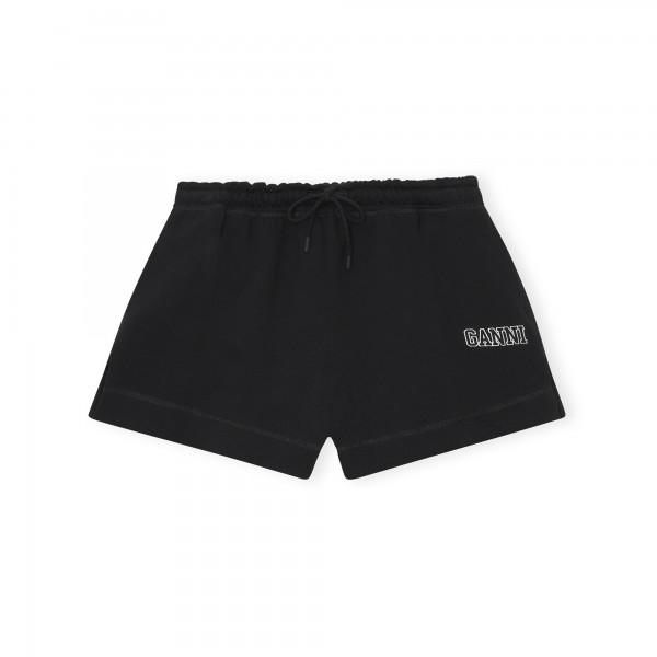 GANNI Software Isoli Drawstring Shorts (Black)