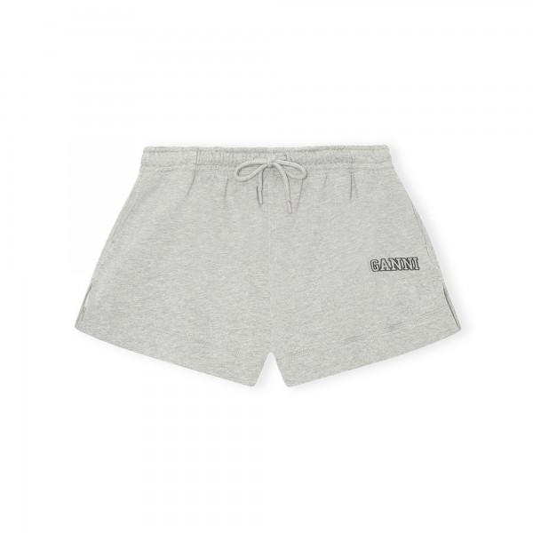 GANNI Software Isoli Drawstring Shorts (Paloma Melange)