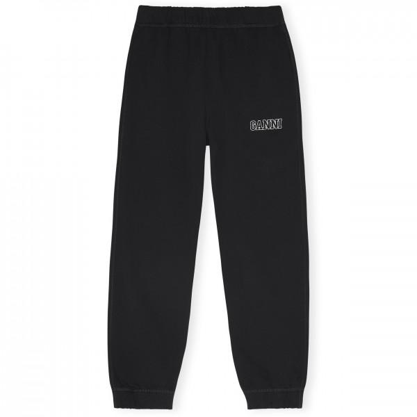 GANNI Software Isoli Elasticated Pant (Black)